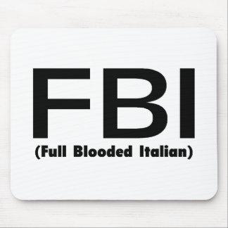 Italiano completo del FBI Blooded Tapetes De Ratones