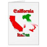 Italiano de California Felicitación
