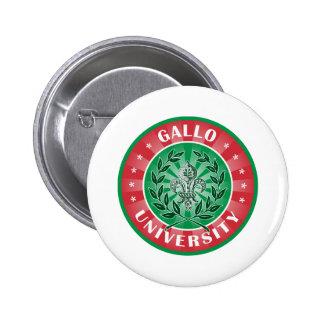 Italiano de la universidad de Gallo Pin Redondo 5 Cm