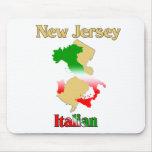 Italiano de New Jersey Tapetes De Ratón
