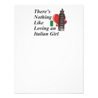 Italiano del amor de la CAMISETA Invitación Personalizada