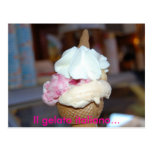 Italiano del gelato de IL… Tarjetas Postales