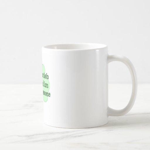 Italiano del irlandés el 50% del 50% el 100% taza clásica