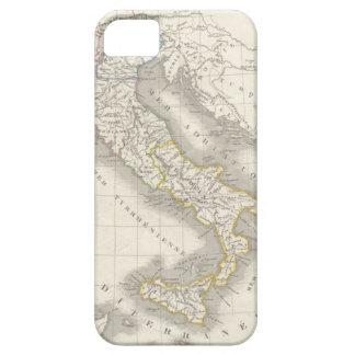 Italiano del mapa de Italia del Viejo Mundo del Funda Para iPhone 5 Barely There