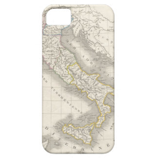 Italiano del mapa de Italia del Viejo Mundo del vi iPhone 5 Carcasas