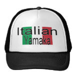 Italiano divertido Yamaka del gorra
