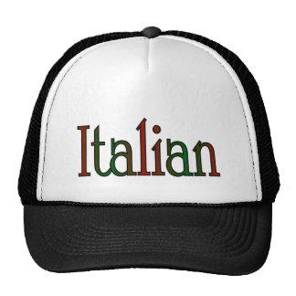 italiano elegante gorras