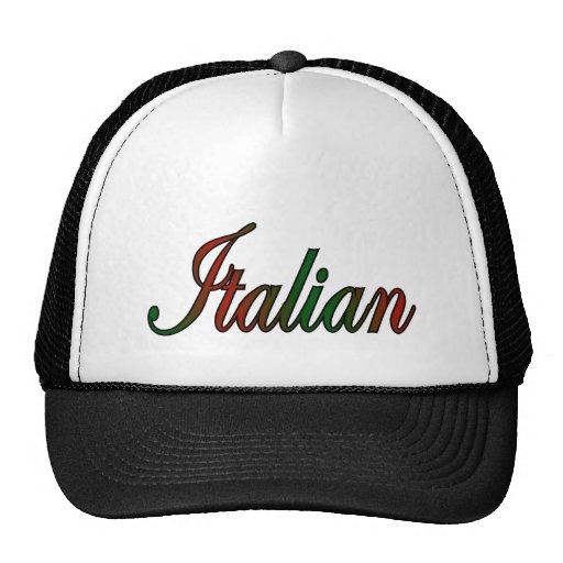 italiano elegante gorro de camionero