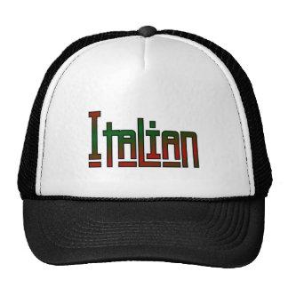 italiano elegante gorros bordados