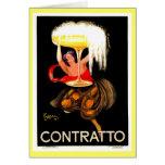 Italiano famoso Champán de Leonetto Cappiello Felicitaciones