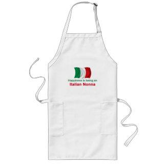 Italiano feliz Nonna Delantal Largo