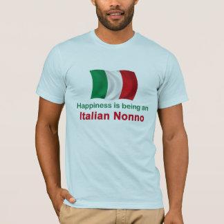 Italiano feliz Nonno Playera