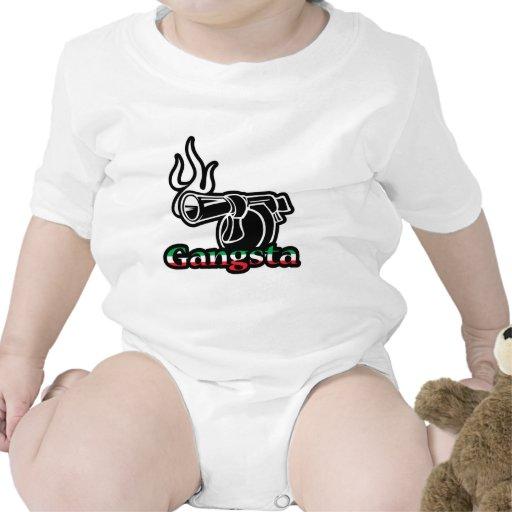Italiano Gangsta Camisetas