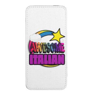 Italiano impresionante del arco iris de la funda para iPhone 5