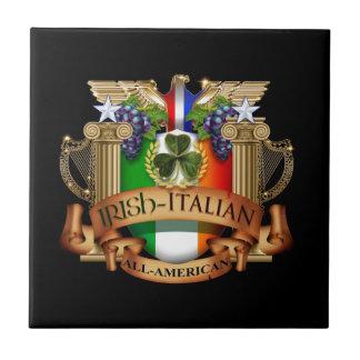 Italiano irlandés todo americano azulejo cuadrado pequeño