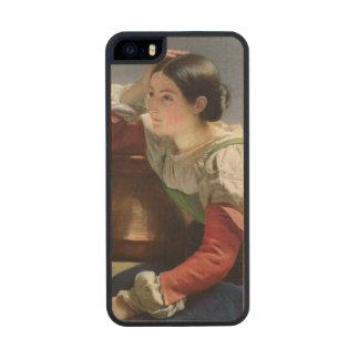 Italiano joven en bien, c.1833-34 funda de arce carved® para iPhone 5