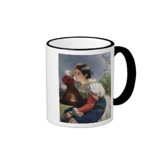 Italiano joven en bien, c.1833-34 taza de dos colores