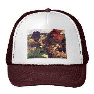Italiano: La Pastora Breton, Breton Shepherdess Mesh Hats