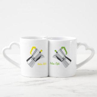 Italiano Moka Set De Tazas De Café