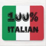 Italiano Mousepad del 100%