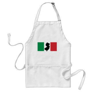 ITALIANO 'NEW JERSEY TODO EL DÍA ITALIAN DE NJ DELANTALES