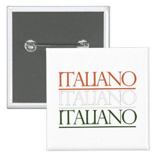 Italiano Pin Cuadrado