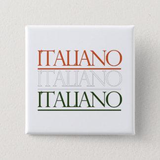 Italiano Pinback Button