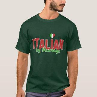 Italiano por la boda - corazón italiano - camisa