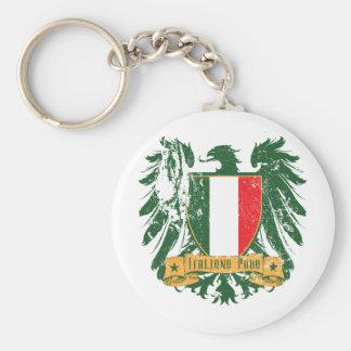 Italiano Puro Llavero Redondo Tipo Pin