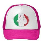 Italiano Semental-y unicornio/gorra rosado del cam