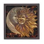 Italiano Sun y luna Caja De Regalo De Calidad
