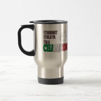 Italiano y un campeón tazas