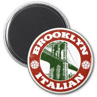 Italianos de Brooklyn Nueva York Imán Redondo 5 Cm