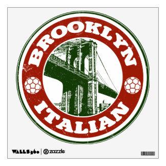 Italianos de Brooklyn Nueva York Vinilo Decorativo