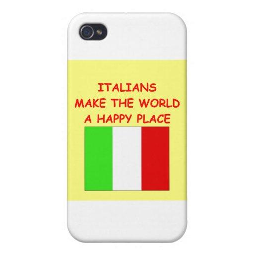 italianos iPhone 4/4S carcasas