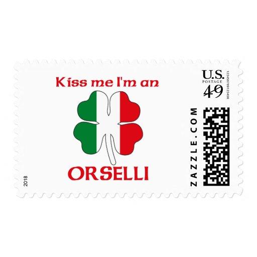 Italianos personalizada me besan que soy Orselli Franqueo