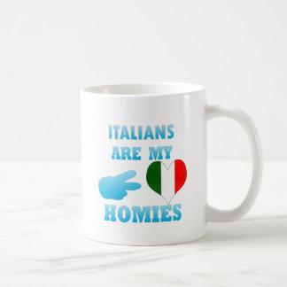 Italians are my Homies Classic White Coffee Mug