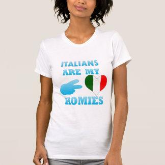 Italians are my Homies T Shirt