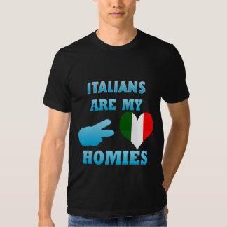 Italians are my Homies Tshirt
