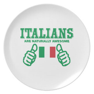 Italians are naturally awesome party plate