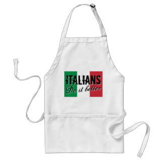 Italians do it better cooking apron