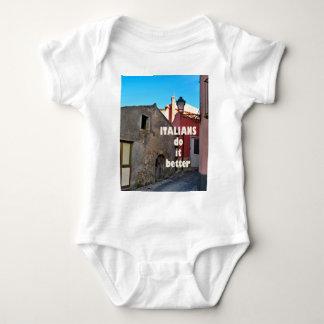 Italians DO it more better Baby Bodysuit