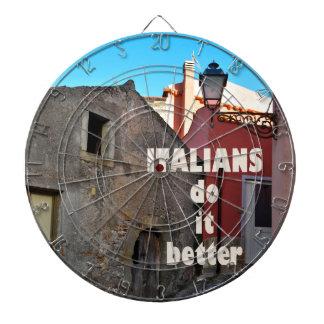 Italians DO it more better Dart Boards