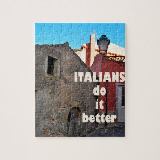 Italians DO it more better Jigsaw Puzzle