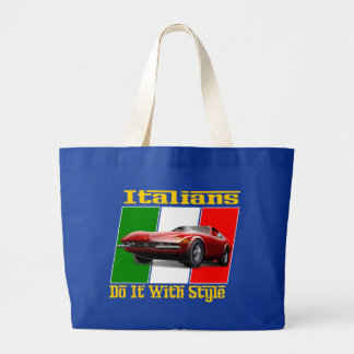 Italians do it with style canvas bag