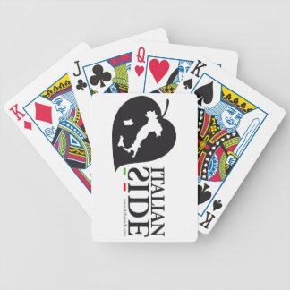 italianside baraja cartas de poker