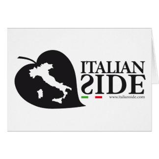 italianside tarjeta de felicitación