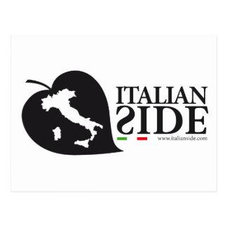 italianside tarjeta postal