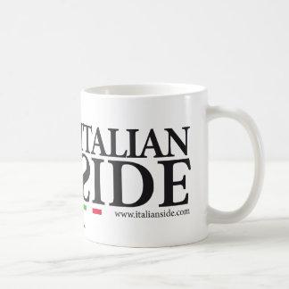 italianside taza básica blanca