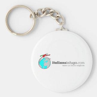 Italiansinfuga Basic Round Button Keychain